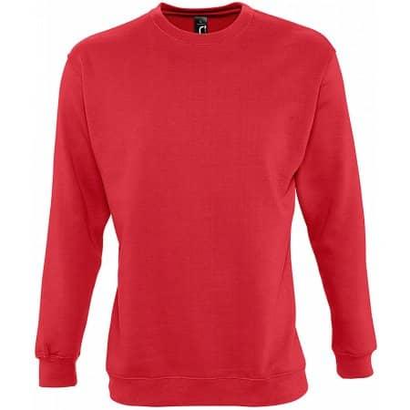 Sweatshirt New Supreme in Red von SOL´S (Artnum: L311