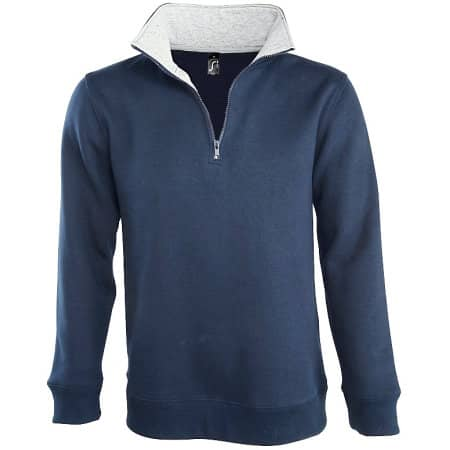 Men Sweat Shirt Scott 1/4 Zip von SOL´S (Artnum: L312