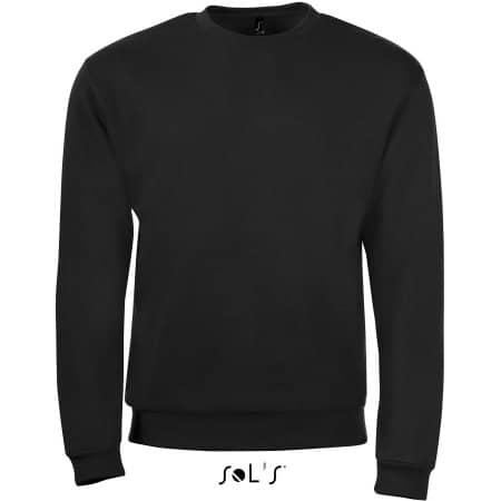 Sweatshirt Spider in Black von SOL´S (Artnum: L326