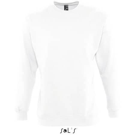 Unisex Sweatshirt Supreme in White von SOL´S (Artnum: L327