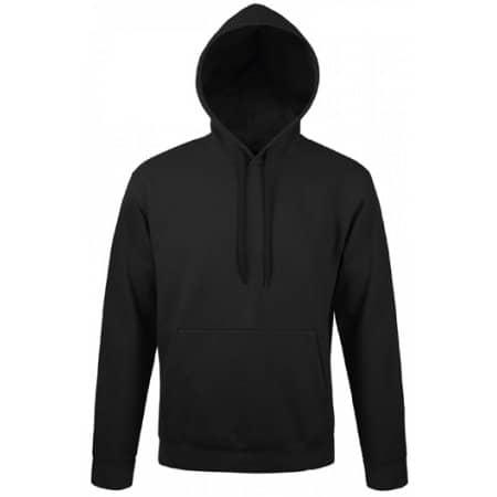 Unisex Hooded Sweat-Shirt Snake in Black von SOL´S (Artnum: L330