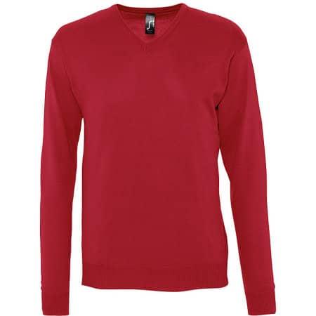 Men`s V Neck Sweater Galaxy von SOL´S (Artnum: L410