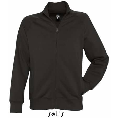 Men`s Zipped Jacket Sundae in Black von SOL´S (Artnum: L472