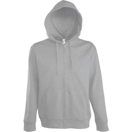 Men Hooded Zipped Jacket Seven von SOL´S (Artnum: L478