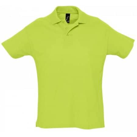 Summer Polo II in Apple Green von SOL´S (Artnum: L512