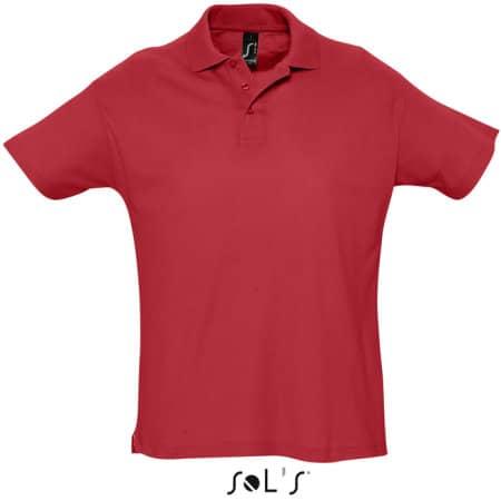 Summer Polo II in Red von SOL´S (Artnum: L512