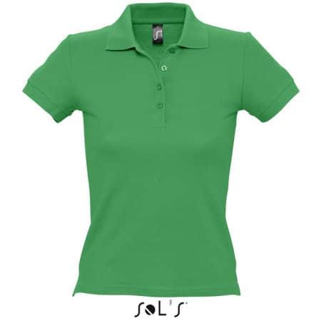 Ladies` Polo People 210 in Kelly Green von SOL´S (Artnum: L519
