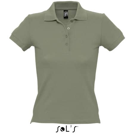 Ladies` Polo People 210 in Khaki von SOL´S (Artnum: L519