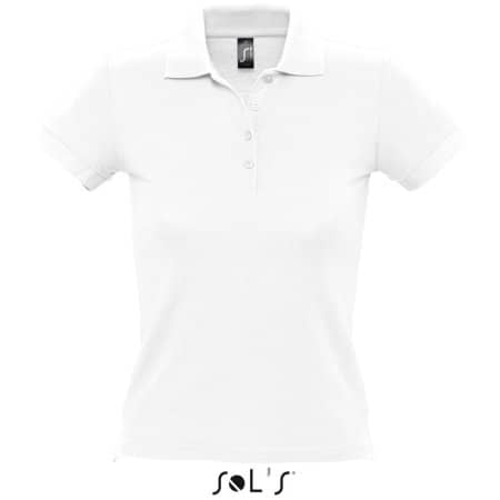 Ladies` Polo People 210 in White von SOL´S (Artnum: L519