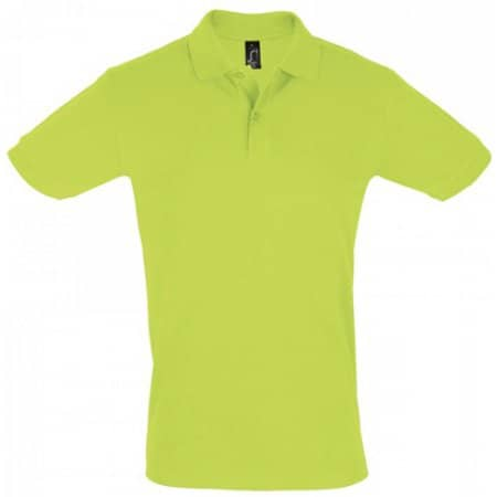 Men`s Polo Shirt Perfect in Apple Green von SOL´S (Artnum: L525