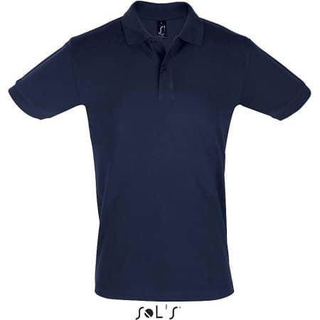 Men`s Polo Shirt Perfect in Denim von SOL´S (Artnum: L525