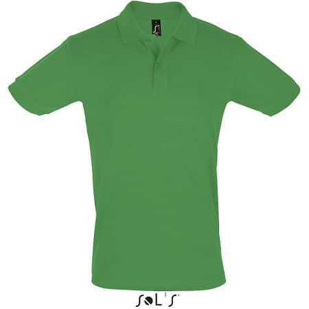 Men`s Polo Shirt Perfect in Kelly Green von SOL´S (Artnum: L525