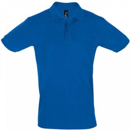 Men`s Polo Shirt Perfect in Royal Blue von SOL´S (Artnum: L525