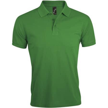 Men`s Polo Shirt Prime in Kelly Green von SOL´S (Artnum: L527