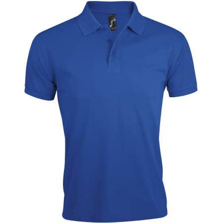 Men`s Polo Shirt Prime in Royal Blue von SOL´S (Artnum: L527