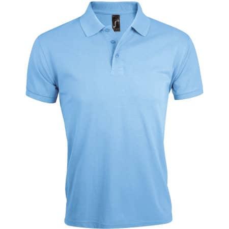 Men`s Polo Shirt Prime in Sky Blue von SOL´S (Artnum: L527