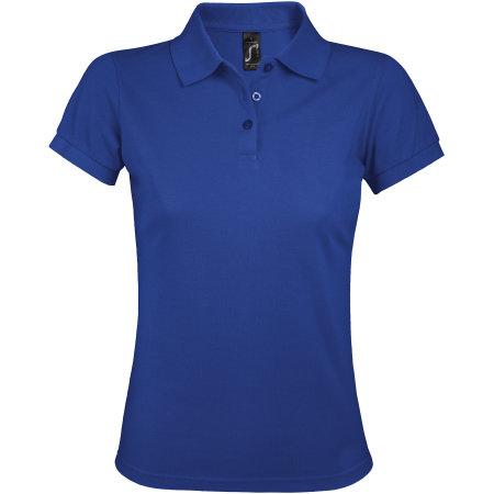 Women`s Polo Shirt Prime in Royal Blue von SOL´S (Artnum: L528