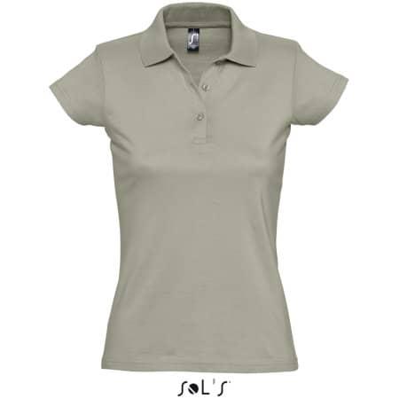 Women`s Polo Shirt Prescott in Khaki von SOL´S (Artnum: L534