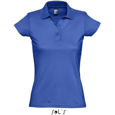 Women`s Polo Shirt Prescott in Royal Blue von SOL´S (Artnum: L534