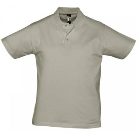 Men Polo Shirt Prescott in Khaki von SOL´S (Artnum: L538