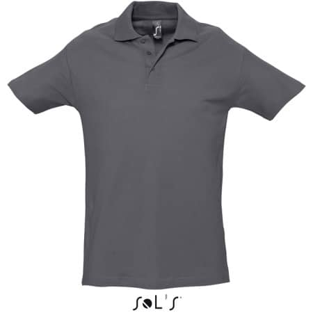 Polo Spring II in Mouse Grey (Solid) von SOL´S (Artnum: L562