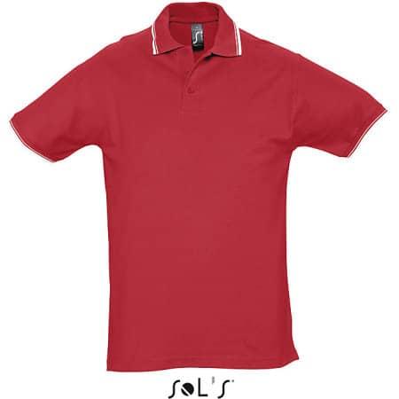Contrast-Polo Practice von SOL´S (Artnum: L585