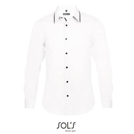 Long Sleeves Fitted Shirt Baxter Men von SOL´S (Artnum: L607