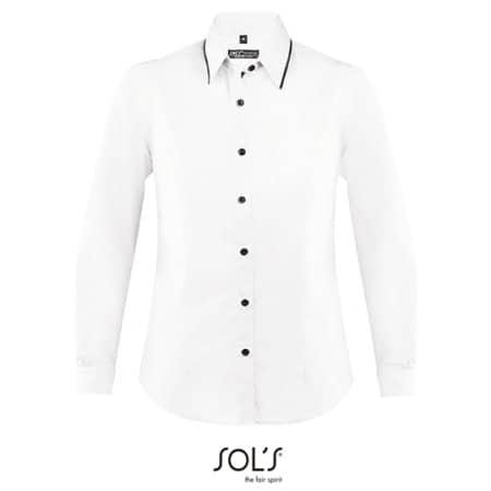 Womens Long Sleeves Fitted Shirt Baxter von SOL´S (Artnum: L608