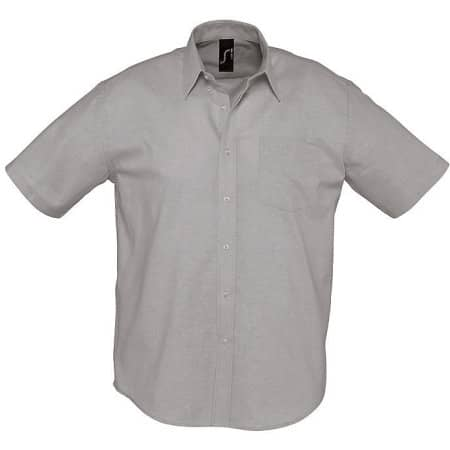 Herren Oxford-Kurzarmhemd Brisbane von SOL´S (Artnum: L612