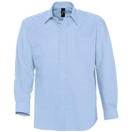 Herren Oxford-Langarmhemd Boston von SOL´S (Artnum: L613