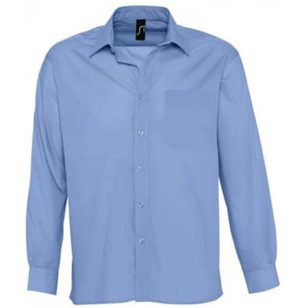 Popeline-Langarmhemd Baltimore von SOL´S (Artnum: L623