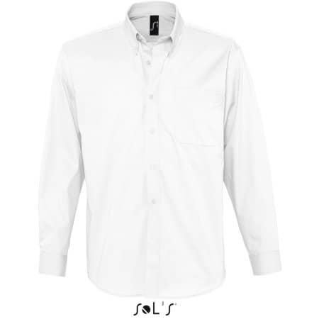 Twillhemd Bel-Air in White von SOL´S (Artnum: L645