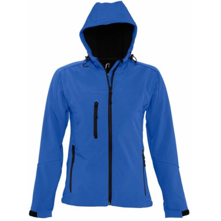 Hooded Softshell Jacket Replay in Royal Blue von SOL´S (Artnum: L848