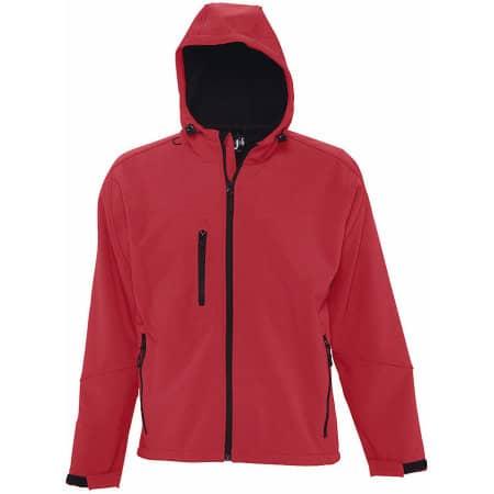 Hooded Softshell Jacket Replay von SOL´S (Artnum: L848