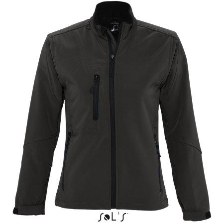 Ladies` Softshell Jacket Roxy in Black von SOL´S (Artnum: L863