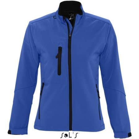 Ladies` Softshell Jacket Roxy in Royal Blue von SOL´S (Artnum: L863