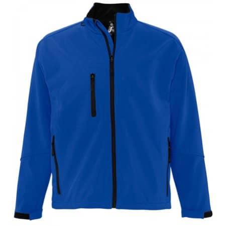 Men`s Softshell Jacket Relax in Royal Blue von SOL´S (Artnum: L866