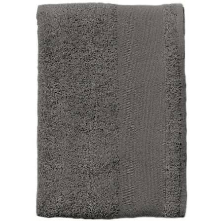 Bath Sheet Island 100 in Dark Grey (Solid) von SOL´S (Artnum: L892
