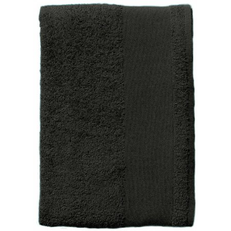 Bath Sheet Bayside 100 in Dark Grey (Solid) von SOL´S (Artnum: L899