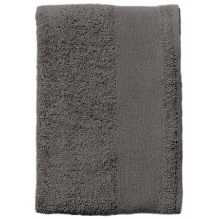 Guest Towel Island 30 in Dark Grey (Solid) von SOL´S (Artnum: L903