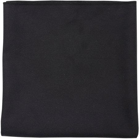 Microfibre Towel Atoll 70 in Black von SOL´S (Artnum: L906