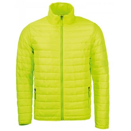 Men`s Light Padded Jacket Ride in Neon Lime von SOL´S (Artnum: L913