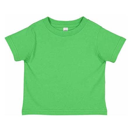 Toddler Fine Jersey T-Shirt in Apple von Rabbit Skins (Artnum: LA3321