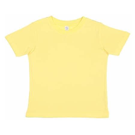 Toddler Fine Jersey T-Shirt in Butter von Rabbit Skins (Artnum: LA3321