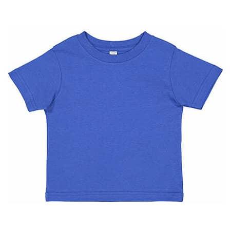 Toddler Fine Jersey T-Shirt in Royal von Rabbit Skins (Artnum: LA3321