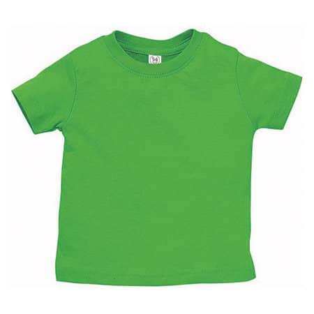 Infant Fine Jersey T-Shirt in Apple von Rabbit Skins (Artnum: LA3322