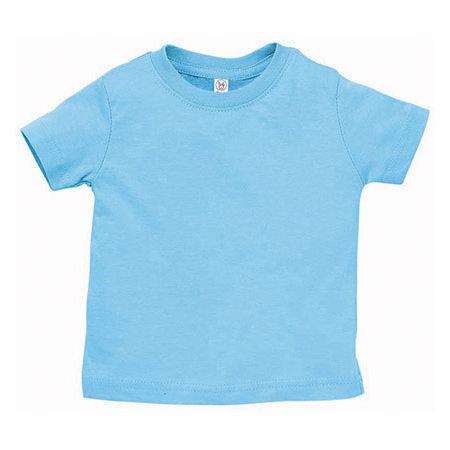 Infant Fine Jersey T-Shirt in Light Blue von Rabbit Skins (Artnum: LA3322