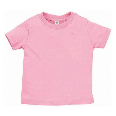 Infant Fine Jersey T-Shirt in Pink von Rabbit Skins (Artnum: LA3322