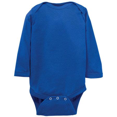 Infant Fine Jersey Long Sleeve Bodysuit von Rabbit Skins (Artnum: LA4411