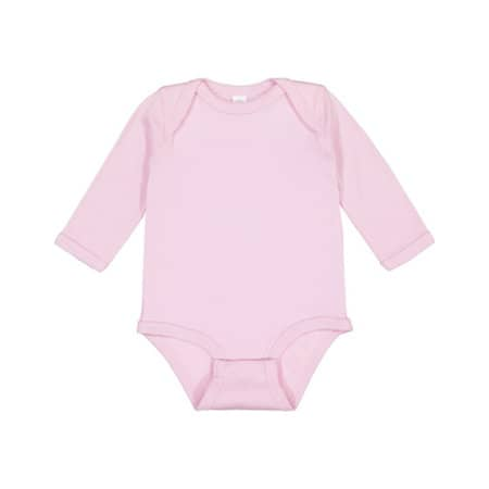 Infant Fine Jersey Long Sleeve Bodysuit - N von Rabbit Skins (Artnum: LA4411N